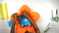 Tutorial Flor de Papel Moana | Mayra Soto | Ovalos Flower Paper Art
