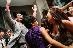 Dancing! Costa Rica Wedding Photographers for Style Savvy Brides | A Brit & A Blonde