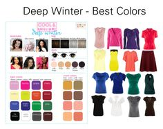 """""""Deep Winter - Best Colors"""" by katestevens ❤ liked on Polyvore featuring H&M, Warehouse, Zac Posen, Cameo Rose, L.K.Bennett, Ella Moss, McQ by Alexander McQueen, Vero Moda and John Lewis"""