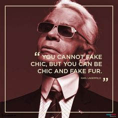 Fashion Quote of the Day – Karl Lagerfeld - Many refer to him as the King of fashion and with good reason.  http://blog.snapdeal.com/fashion-quote-of-the-day-karl-lagerfeld/
