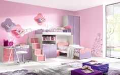 Dormitorio-infantil-rosa-2.jpg (1432×901)