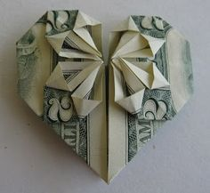 Heart-Shaped Origami | Three Wisdoms http://www.threewisdoms.com/2010/05/heart-shaped-origami.html