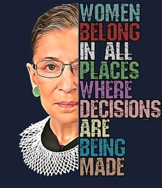 Great Quotes, Quotes To Live By, Me Quotes, Inspirational Quotes, Qoutes, Wild Quotes, Motivational Messages, Ruth Bader Ginsburg Quotes, Justice Ruth Bader Ginsburg