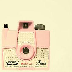 PINK Vintage Camera. USA Made!