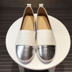 >> Click to Buy << 2017 Fashion White Silver Famous Cow Split Newest Loafers Elegant Ladies brand Autumn Famous Female Soft Footwear Drop Shipping #Affiliate