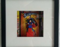Superman Superhero Wall Art - Unique - Retro - Geekery #EasyNip