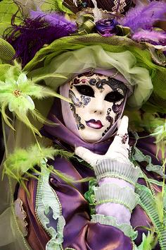 ❧ Couleur : Violet et Lime ❧
