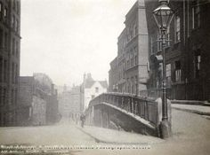 Hollow Stone and Short Hill Looking East, Lace Market, Nottingham, c 1895