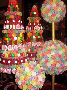 Candy Topiaries   by MilenaNYC