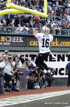 New Orleans Saints WR Lance Moore #Saints #NOLA #WhoDat