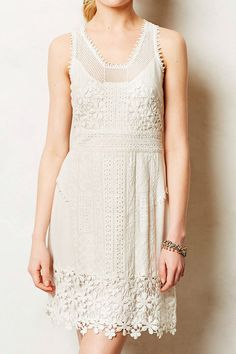 Vered Lace Shift by Anthropologie