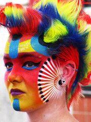 The World's Best Photos of buskerfest Barbarian, World Best Photos, Cool Photos, Carnival, Colours, Portrait, Makeup, Face, Canada