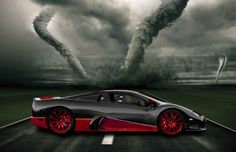 1,300 horsepower from its 6.8-liter, twin-turbo DOHC V8-SSC Ultimate Aero XT