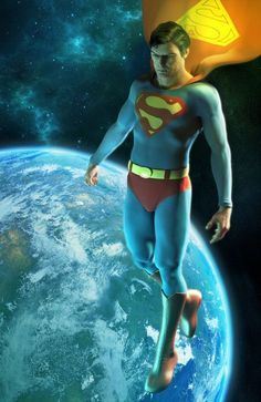 Superman Christopher Reeve - The Best Superman Actor Ever-Alex Ross-Very Cool