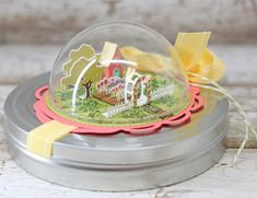 SOAPBOX CREATIONS: Petite Places: Home and Garden