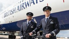 Guinness World Records had the pleasure of hosting British Airways pilots James van der Hoorn and Thomas Reynolds earlier this week, following the pair's epic cycling adventure which saw them set a new record for Most countries visited by bicycle in 24 hours (team).  #adventure #travel #team #biking #cycle #explore #world #wanderlust #discovery #bestfriends #pilots #skies #flying #britain #europe
