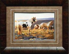 Nancy Glazier Welcome the Dawn Horse Print-Framed