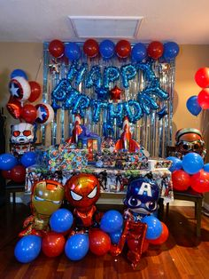 My 4 year old brother loved them!! It came out really good for a suprise!! Spiderman Theme Party, Avengers Party Decorations, Superhero Birthday Party, Birthday Party Decorations, Fourth Birthday, 6th Birthday Parties, Birthday Ideas, Avenger Party, Avengers Birthday