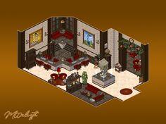 Central de Ayuda Habbox Habbo Hotel, Art Tips, Pixel Art, Buildings, Clip Art, Draw, City, Random, Memes
