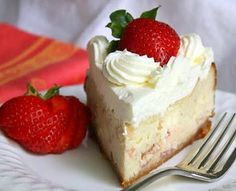 Jane's Sweets & Baking Journal: Strawberry Cheesecake with Cookie Crumb Crust . . . Thinkin' Pink!