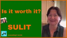 Sulit - Is it worth it?