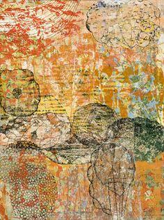 Eva Isaksen - Works on Canvas - Settle