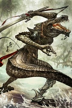 219 Best Lizardfolk images in 2018 | Character concept, Character
