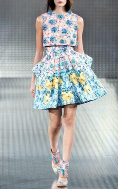 Mary Katrantzou Spring/Summer 2014 Trunkshow Look 19 on Moda Operandi