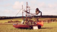 Rob Higgs Foghorn Contraption for Kneehigh Theatre 2011
