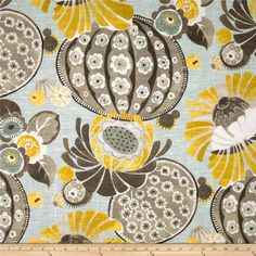 Waverly Copacabana Slub Flint - Discount Designer Fabric - Fabric.com