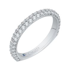 Shop Carizza Wedding Bands like this White Gold Ladies Wedding Band at Vandenbergs Fine Jewellery in Winnipeg MB Wedding Bands For Her, Womens Wedding Bands, Diamond Wedding Bands, Jewelry Shop, Fine Jewelry, Pearl Gemstone, Custom Jewelry Design, Round Diamonds, Band Rings