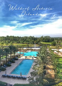 Mini Weekend Getaway at Waldorf Astoria Orlando - The resort features beautiful accommodations, signature dining, a relaxing spa and activities for the entire family.