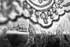 Ring shot with foreground lace | Susan Stripling