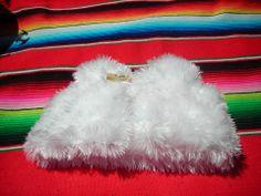 Petit gilet blanc pour bébé taille 3 mois : Mode Bébé par bleu-blanc-rose