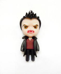 Evil Angel  Miniature Sculpture  Ornament by WonderlandContraband, $42.00