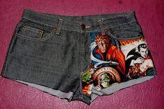 MOnsters shorts  #monsters  BaRRaCuDa SSHoP Monster S, Shorts, Stuff To Buy, Fashion, Moda, Fashion Styles, Fashion Illustrations, Short Shorts, Hot Pants
