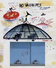 37 Jean Paul Goude defile bicentenaire valseuse croquis
