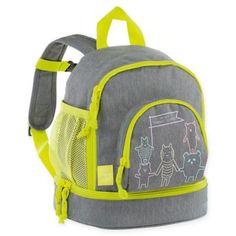 L/ässig School Bag About Friends m/élange Blue Cartable Bleu 40 cm Blue