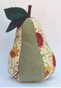DIY Pincushion Patterns: Pear Shaped Pin Cushion                                                                                                                                                      More