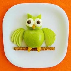 Owl Fruit Snack - Food that your kids will love and eat