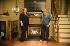 The hearth can sell the home: Fireplaces available in many styles.