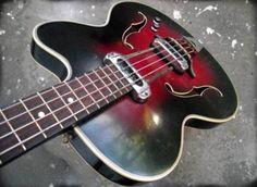 Vintage 60's Musima Hollowbody Bass, Mod 1655 HB - Klassiker! in Berlin - Kreuzberg | Musikinstrumente und Zubehör gebraucht kaufen | eBay Kleinanzeigen