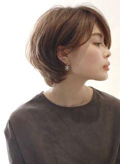 79 Stylish Pixie Haircuts Ideas For Graduation In 2018 - Fashionuki Asian Short Hair, Asian Hair, Short Hair Cuts, Girls Short Haircuts, Short Bob Hairstyles, Cool Hairstyles, Pixie Haircuts, Love Hair, Great Hair