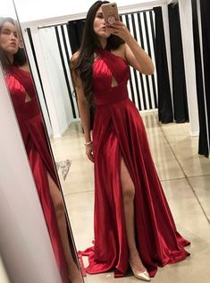 Princess Prom Dresses, A-Line Cross Neck Floor-Length Dark Red Prom Dress with Split Keyhole, Plus Size Formal Dresses and Plus Size Party Dresses are great for your next special Occassion at cheap affordable prices The Dress Outlet. Backless Prom Dresses, A Line Prom Dresses, Cheap Prom Dresses, Satin Dresses, Homecoming Dresses, Prom Gowns, Evening Gowns, Graduation Dresses, Long Dresses