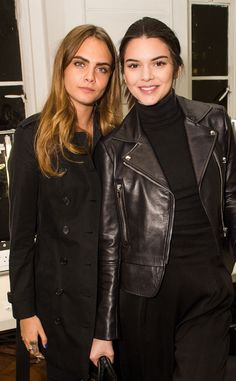 The beautiful BFF's relax backstage at London Fashion Week!