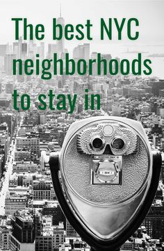 Choosing a neighborhood to stay in for your time in New York is intimidating. New York City is huge…and expensive. If you find a great deal on a room in Midtown, by all means, book it! But be warned that if it's cheap it's probably microscopic, time-worn, and facing a brick wall. There's more to …