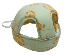 Когда малыш учится ходить, шапка-шлем станет ему не заменимым помощником!  Мягкий наполнитель-поролон смягчает удары головы при падении