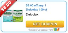 $8.00 off any 1 Dulcolax 100 ct | The Crazy Coupon Lady of OC