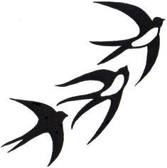 Vogel Silhouette, Bird Silhouette Tattoos, Silhouette Design, Bird Template, Scroll Saw Patterns, Bird Design, Bird Art, Line Drawing, Rock Art
