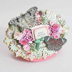 Anna Griffin Cards, Floral Wreath, Decorative Boxes, Birthday, Floral Crown, Birthdays, Decorative Storage Boxes, Dirt Bike Birthday, Flower Crowns